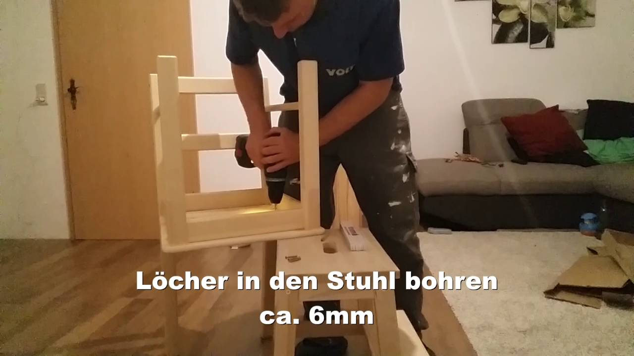 lernturm ikea selber bauen youtube. Black Bedroom Furniture Sets. Home Design Ideas