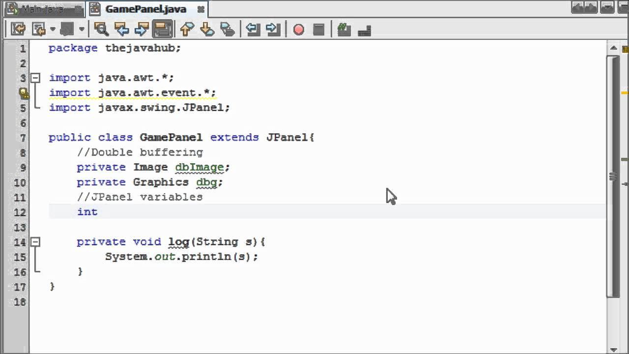 Intermediate Java Game Programming