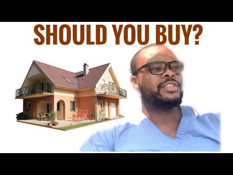 Should you buy a House as a Medical Student or Resident?