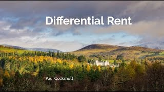 Differential rent