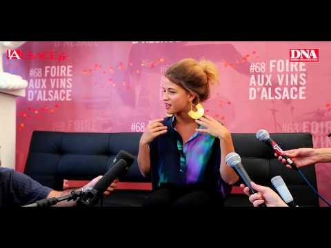 Extraits de la conférence de presse de Selah Sue à la Foire aux Vins d'Alsace
