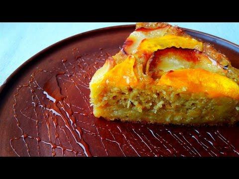 Пирог Тыквенно-Яблочный. Очень Вкусный Пирог из Тыквы и Яблок. Рецепты из Тыквы.