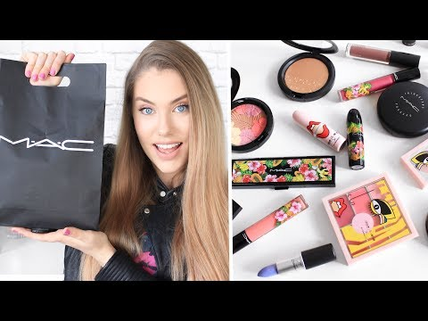 HUGE M.A.C HAUL // NEW Releases & Limited Editions
