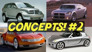 4 Awesome Dodge Concept Cars We Forgot About! // PART 2!