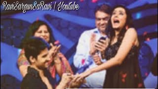 Ravi Dubey proposes her better half Sargun Mehta on the Nach Baliye 5 stage! | SaRavi | NB5 |