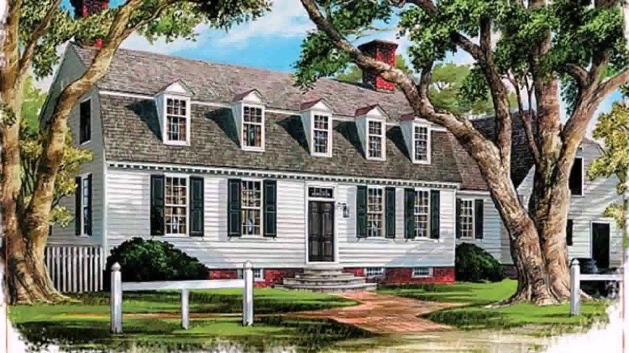 Dutch colonial house styles youtube Dutch colonial house plans with photos