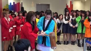 2017/1/7 KANSAI IDOL LEAGUE 新春ライブ直前に行われた餅つき大会 参加...