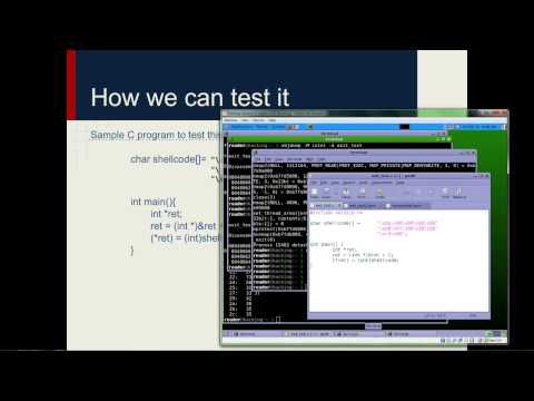 Offensive Computer Security 2014   Lecture 11 Exploit Development 102720p H 264 AAC