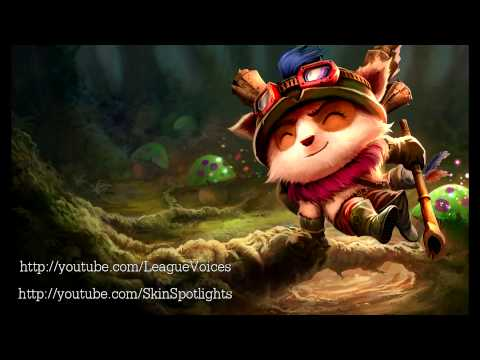Teemo Voice - English - League of Legends