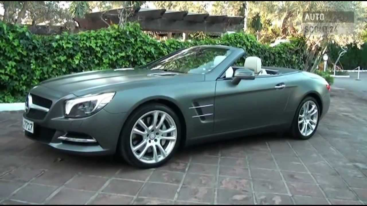 mercedes sl 500 testbericht autoscout24 youtube. Black Bedroom Furniture Sets. Home Design Ideas