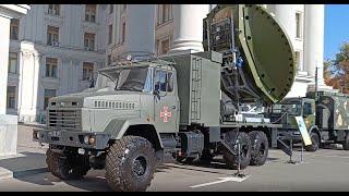 Cтанция спутниковой связи/ПКР Нептун - Промо о выставке военной техники на Михайловской от ZanoZaTV