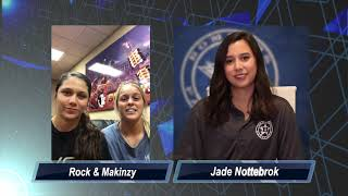 Bombers All-Access Player Interview with Rock Benavides and Makinzy Herzog