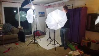 Safstar 2M x 2M Background Support System is a very good starter lighting kit