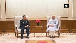 Watch: PM meets Defence Minister of China General Wei Fenghe