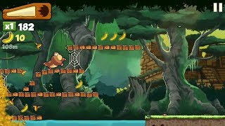 Banana Kong, Some Failed Action In Banana Kong Game. Baby Kids Games