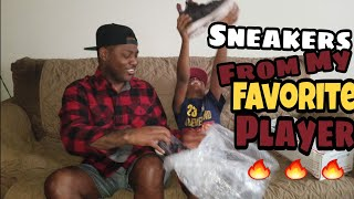 Nike Lebron 15 Pride of Ohio surprise for Josiah! Unboxing and quick review. 4k