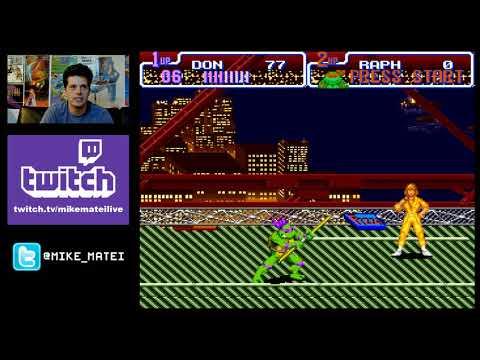 Teenage Mutant Ninja Turtles: Turtles in Time (SNES) live stream