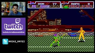 Teenage Mutant Ninja Turtles: Turtles in Time (SNES) live stream