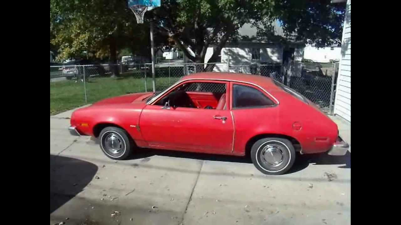 1978 Ford Pinto Pony 4 Cylinder 4 Speed 29 600 Original Miles Youtube