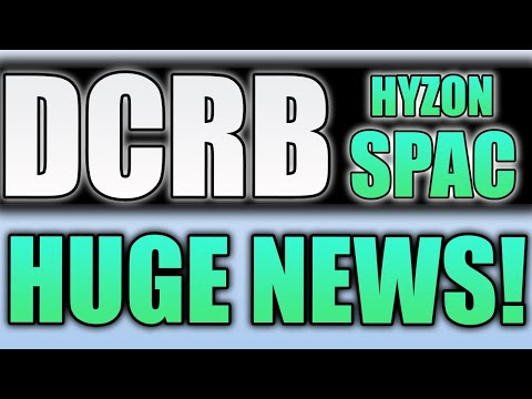 DCRB STOCK, HUGE NEWS!!!    POSSIBLE MERGER WITH HYZON MOTORS!!! (stocks to buy now)