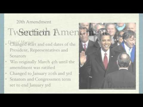 Twentieth Amendment Project