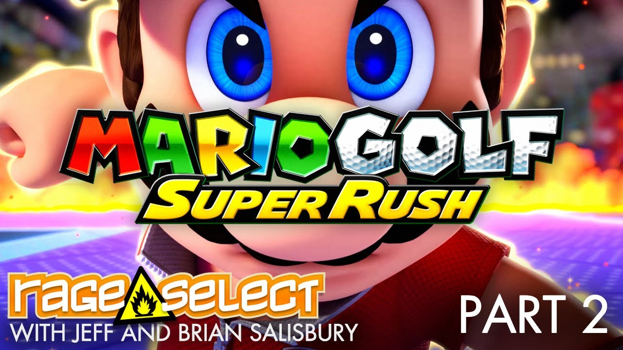 Mario Golf: Super Rush (The Dojo) Let's Play - Part 2... WITH JUNKFOOD CINEMA!
