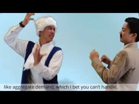 Adam Smith vs John Maynard Keynes. Epic Rap Battles of ECONOMICS