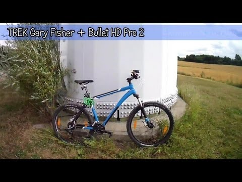TREK Gary Fisher WAHOO  Bicycle Testing With Bullet HD Pro 2