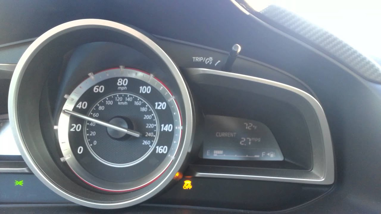 2015 MAZDA 3 060 MPH traction control off  YouTube