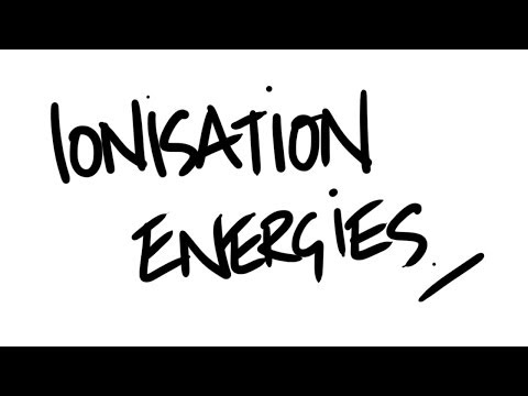 AQA A-Level Chemistry - Ionisation Energies