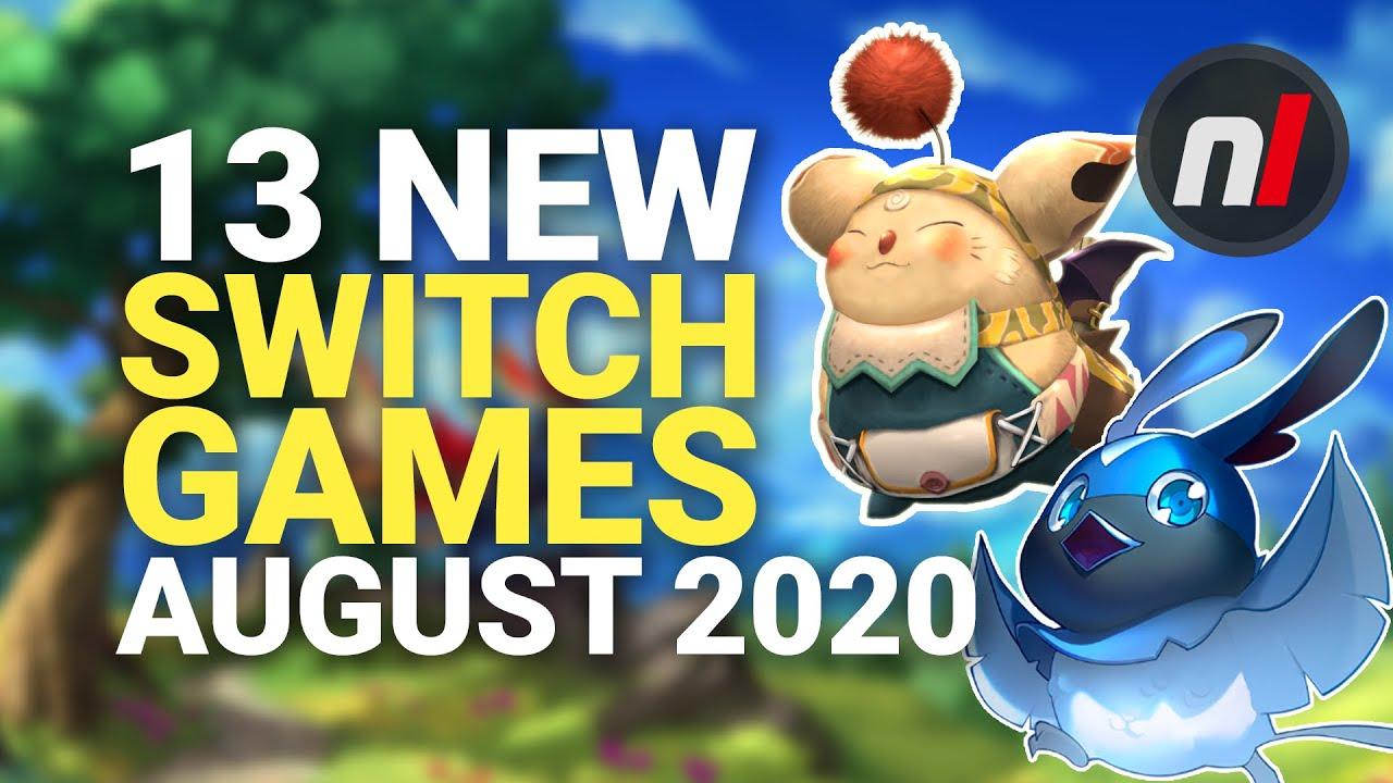 13 Exciting New Games Coming to Nintendo Switch - August 2020