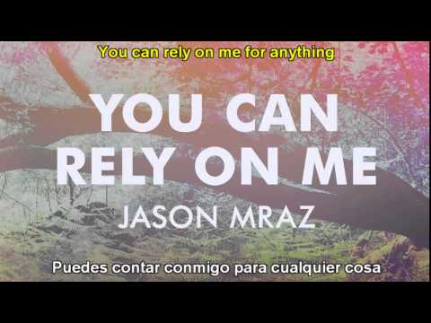 jason mraz  you can rely on me sub español ingles