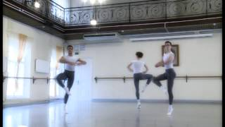 Male classical dance exam, 2-d year undergraduate course of The Vagnova Ballet Academy. 2015