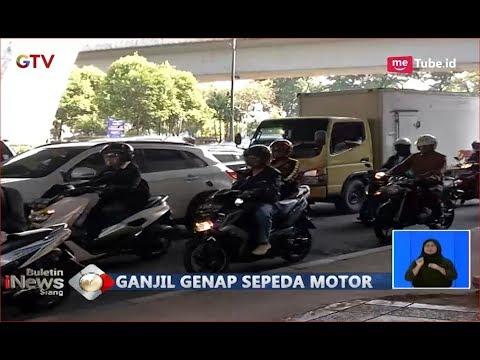Pengemudi Kendaraan Roda 2 Menolak, Pengendara Mobil Sambut Baik Ganjil Genap Motor - BIS 17/09