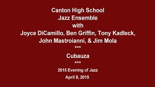 canton ct high school jazz ensemble cubauza evening of jazz 2015