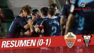 Resumen de Elche CF vs Albacete BP (0-1)
