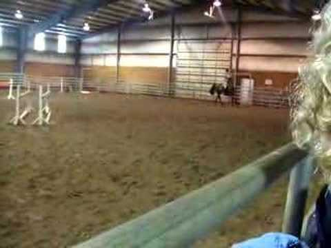 Lola in the Rob Gage Clinic Sunday