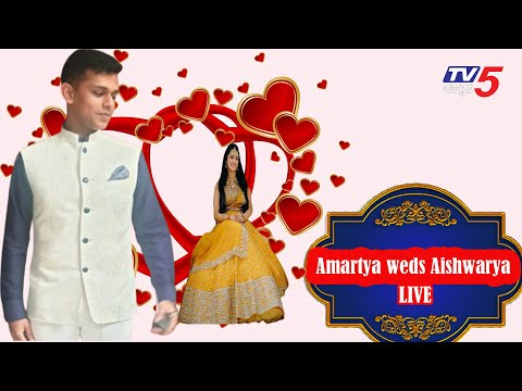 Live : DK Shivakumar's Daughter Aishwarya and Amartya Hegde Marriage | TV5 Kannada