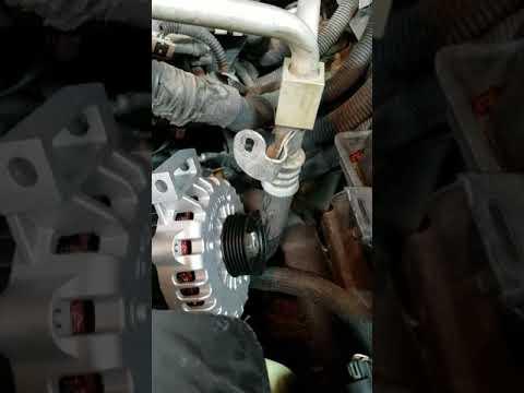 Replacing Alternator On 2003 Envoy With 4 2 Engine