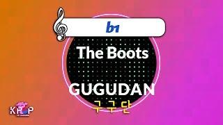 [KPOP MR 노래방] The Boots - 구구단 (b1 Ver.)ㆍThe Boots - GUGUDAN