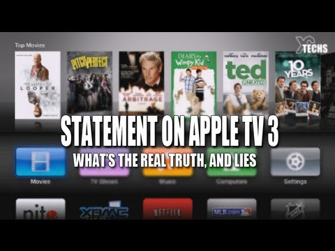 Statement on AppleTV 3 Jailbreak