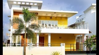 Cute Small Modern House 1500 Sft For 15 Lakh | Elevation | Interior