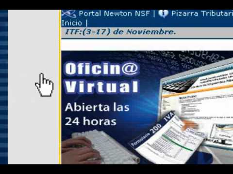 Oficina virtual del servicio de impuestos nacionales youtube - Oficina virtual de tramits ...