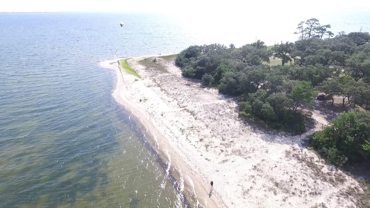 Florida's Mid-Bay Bridge & Shoreline Aerial Video 2K - DJI ...