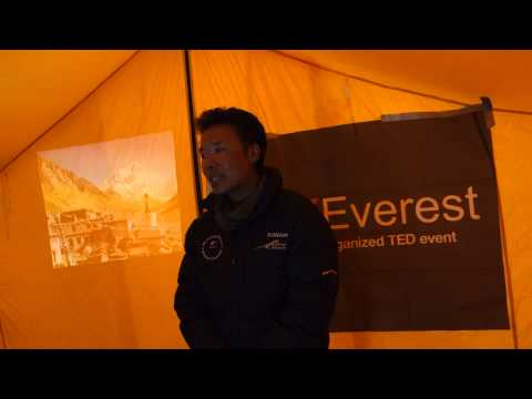 My life as a climbing sherpa: Sonam Bhote at TEDxEverest