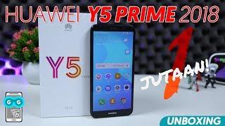 Hape Huawei 1-JUTAAN Kaya Apa Sih? Unboxing Huawei Y5 Prime 2018