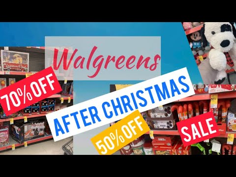 When Will Walgreens Christmas Clearance Be 75% Off January 2021 Walgreens After Christmas Clearance Deals 50 70 Off Youtube