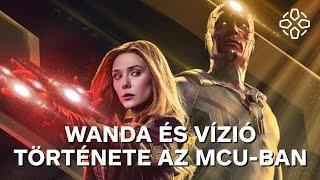 Wanda és Vízió teljes története az MCU-ban