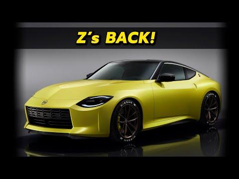 2022 Nissan Z Prototype First Look!