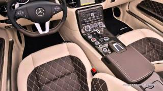 2013 Mercedes-Benz SLS AMG GT Roadster Interiors and Exteriors Looks